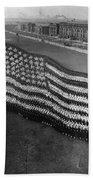 Flag Formation, C1917 Beach Towel
