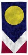 Flag Of Denver Beach Towel