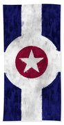 Flag Of Indianapolis Beach Towel