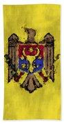 Flag Of Moldavia Beach Towel