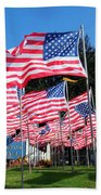 Flags Of Glory Beach Towel