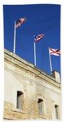 Flags Of San Christobal Beach Towel