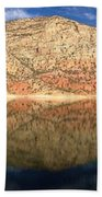 Flaming  Gorge Reflections Beach Towel