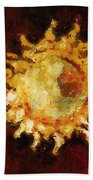 Flaming Out Beach Towel