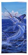 Flat Line Off0077 Beach Towel