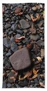 Flat Skipping Stones Beach Towel
