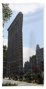 Flatiron Building - Manhattan Beach Towel