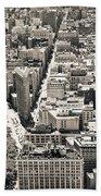 Flatiron Building - New York City Beach Sheet