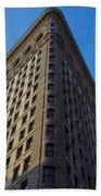 Flatiron Building New York Beach Towel