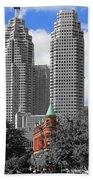 Flatiron Building Toronto 2c Beach Towel