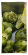 Flavoring Brussels Sprouts Beach Towel