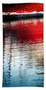 Red Boat Serenity Beach Sheet