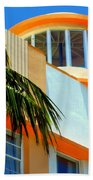 Flavour Of Miami Beach Towel by Karen Wiles