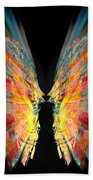 Flight Abstract Beach Towel