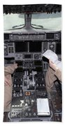Flight Captains Review Flight Beach Towel