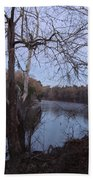 Flint River 4 Beach Towel