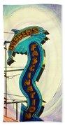 Flippers Facination - Wildwood Boardwalk Beach Sheet