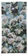 Floating Flower Fantasy Beach Towel