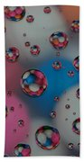 Floating Gum Balls Beach Towel