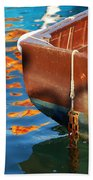 Floating On Blue 11 Beach Towel