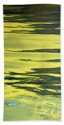 Floating On Blue 27 Beach Towel