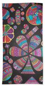 Floating Pebels Beach Towel