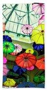 Floating Umbrellas In Las Vegas  Beach Towel