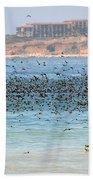 Flocking At Terranea Beach Towel