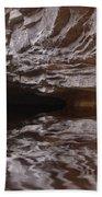 flooded Ohio cave Beach Towel