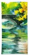 Floods R Beach Towel