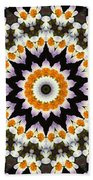 Flora Kaleidoscope Beach Towel