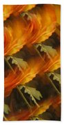Floral Abstract 2 Beach Towel
