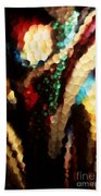 Floral Abstract I Beach Towel