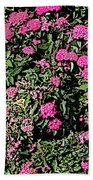 Floral Afternoon Beach Towel