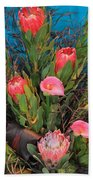 Floral Arrangement Beach Towel