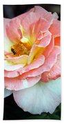 Floral Bee Beach Towel