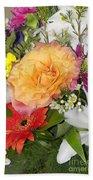 Floral Bouquet 3 Beach Towel