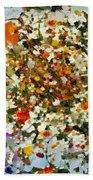 Floral Chaos Beach Towel