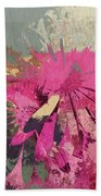 Floral Fiesta - S33bt01 Beach Towel by Variance Collections