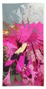 Floral Fiesta - S33ct01 Beach Towel
