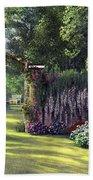 Floral Garden Beach Towel