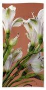 Floral Highlights Beach Towel
