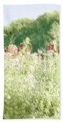 Floral Impressions Beach Towel