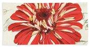 Floral Inspiration 1 Beach Sheet