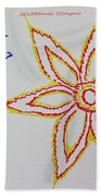 Floral Joy  Beach Towel