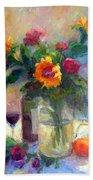 Floral Paintings Fp18 Beach Towel