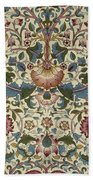 Floral Pattern Beach Towel by William Morris