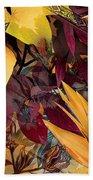 Floral Tiles Beach Sheet