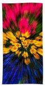 Floral Triple Zoom Beach Towel