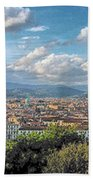 Florence Panorama Beach Towel